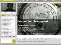 Palestra online gratuita Metasploit Framework – Apresentação da ferramenta, sua arquitetura e funcionalidades