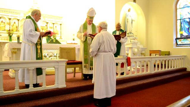 Ordination of Fr. Deacon Sam Lundy, Copenhagen, NY at St. George's Pro-Cathedral in Niagara Falls