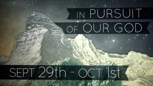 Vine Fall Retreat '11: In Pursuit of Our God