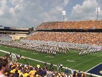 WVU Mountaineer Marching Band Tribute 091011