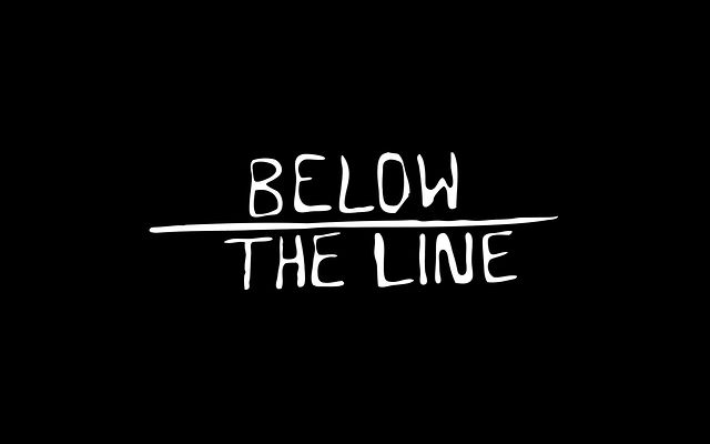 Below the line on vimeo