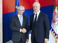 Herman VAN ROMPUY visits Serbia
