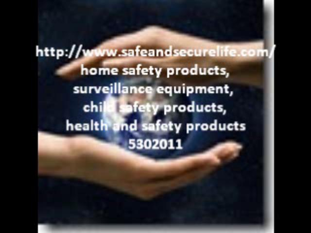 Safe and secure life best home safety products on vimeo for Safe and secure products