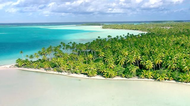 Marlon Brando's private island Tetiaroa