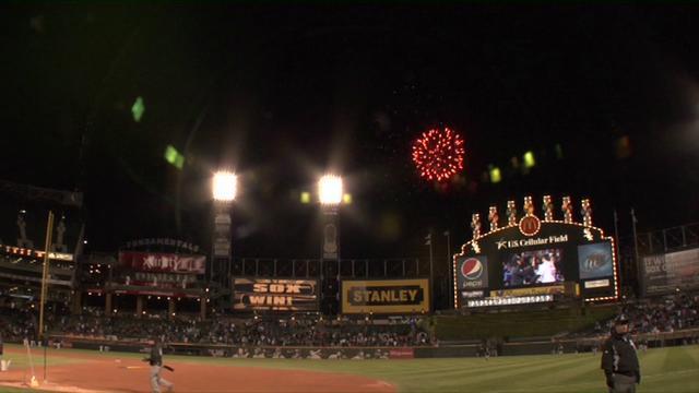Fireworks display company sports venues