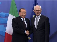 Meeting with Silvio BERLUSCONI, Prime Minister of Italy