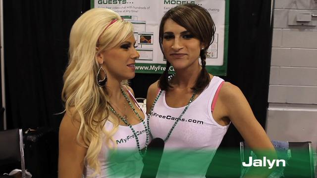 MyFreeCams at Exxxtacy Expo in Chicago 2010