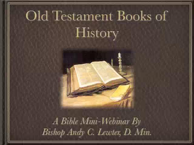 a study of the old testament of the bible An old testament study course, with multiple-choice questions.
