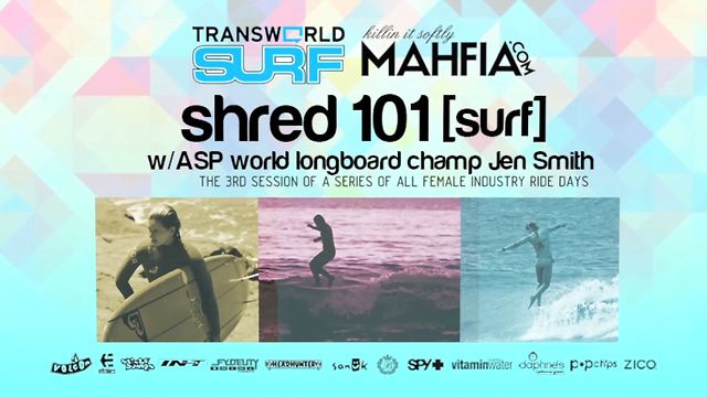 SHRED 101 [SURF] TRANSWORLD X MAHFIA.COM