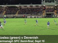 Roslea Goal 2 v Devenish, Fermanagh SFC, Sept 16