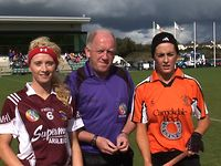 Westmeath Captain Aisling Conaty - All Ireland Junior A Final