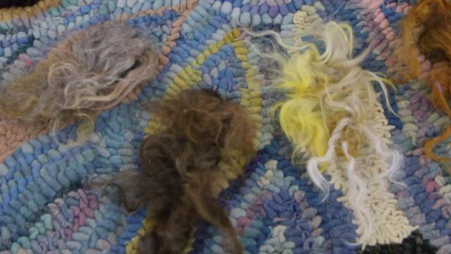 Rug Hooking With Yarn By Susie Stephenson Part 1