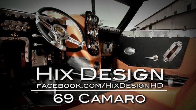 Hix Design 69 Camaro On Vimeo