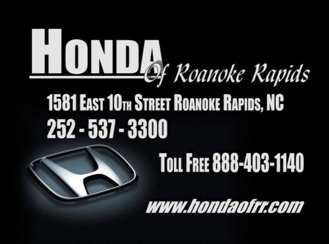 Honda Of Roanoke Rapids On Vimeo