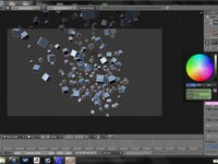 Blender Tutorial - Advanced Array Animation by Derrick Sesson - Part 9