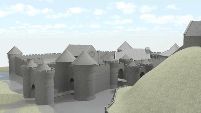 The Marlborough Mound Castle Reconstruction