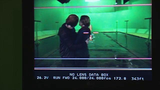 Detrás de cámaras de Harry Potter: El beso de Ron y Hermione