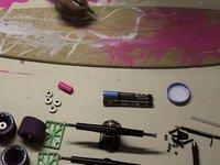 Custom Deck Freehand #1 - Virgo