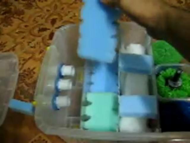 Filtro casero para estanque on vimeo for Estanques caseros