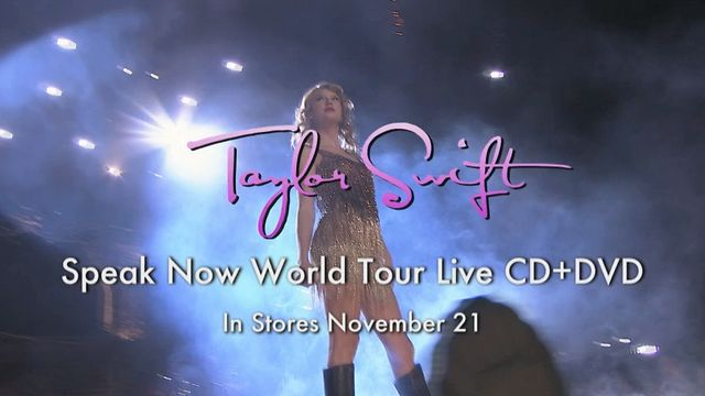 Speak now world tour live dvd free download