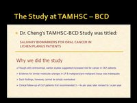 Oral Lichen Planus Research - Part II