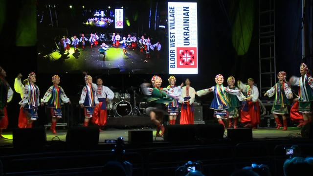 DESNA Ukrainian Dance Co. Hopak at Toronto Ukrainian Festival 2011