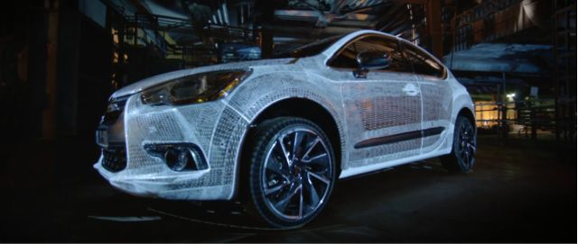 Telegraph Video Production: Citroën DS4: Art