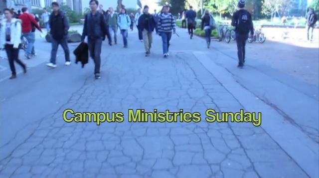 Campus Ministries Sunday