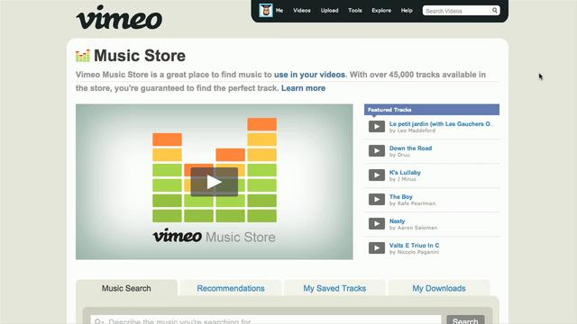 Music Store Tutorial