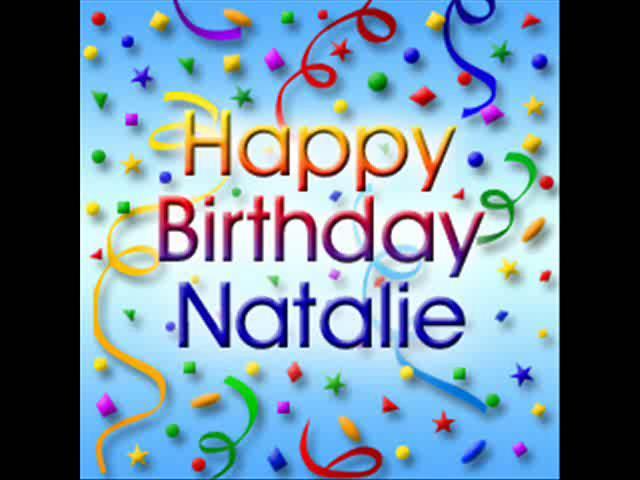 Happy Birthday Natalie Cake