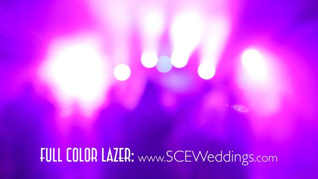 SCE Event Group - Full Color Laser Demo