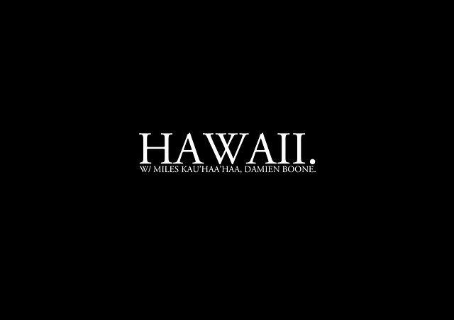 IN-BETWEEN PART 3. 'HAWAII'.