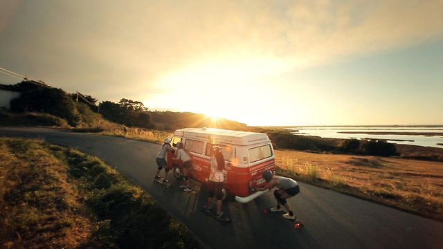 Endless Roads Trailer - Roadtrip in Spain with the Longboard Girls Crew