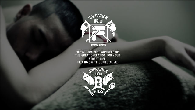 BURIED ALIVE x FILA IB70 2011 F/W CAPSULE COLLECTION COMMERCIAL FILM