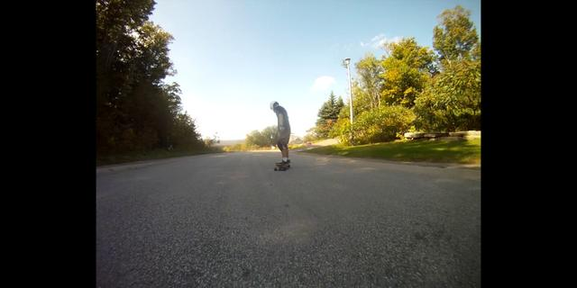Longboarding: The View is Good