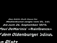 RainDance - Klanginstallation von Paul DeMarinis