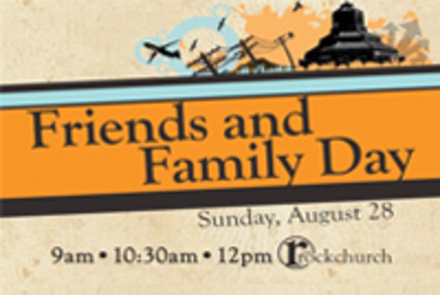 Friends and Family Day MG