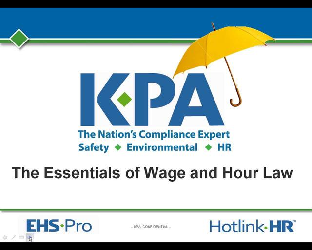 Essentials of Wage and Hour Law for Dealerships