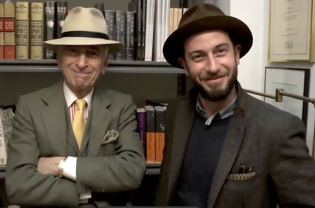 Video | Gilt Manual speak to Gay Talese about Hats