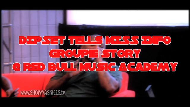 DIPSET tells MISS INFO groupie story @Red Bull music academy