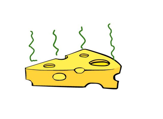Animated cheese gif
