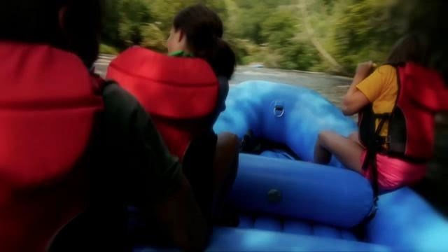 Rafting on the Tuckasegee River