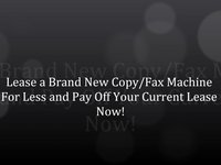 New York Lease Rent Buy Copier Copy Machine #1 Leasing Company