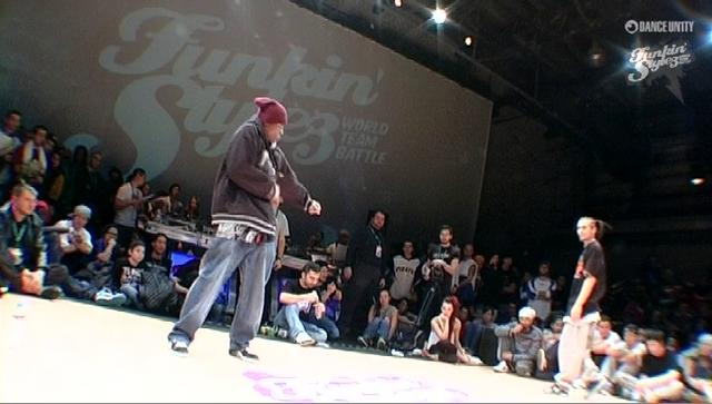 Funkin' Stylez 2009 - HipHop - P-Dog vs UK
