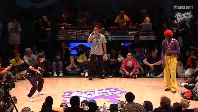 Funkin' Stylez 2009 - Locking - Flockey vs Jenny