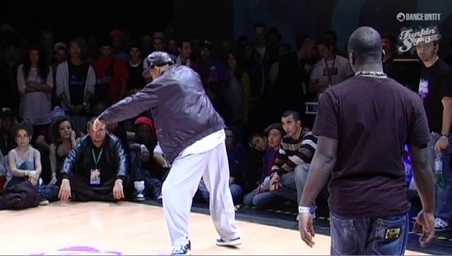 Funkin' Stylez 2009 - Popping - Salah vs Iron Mike