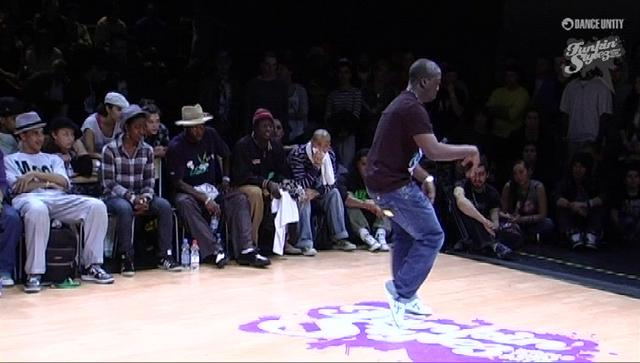 Funkin' Stylez 2009 - Popping - Iron Mike vs Nelson
