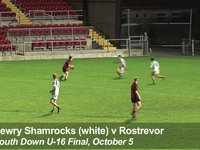 Newry Shamrocks Goal - South Down U-16 Final, October 5