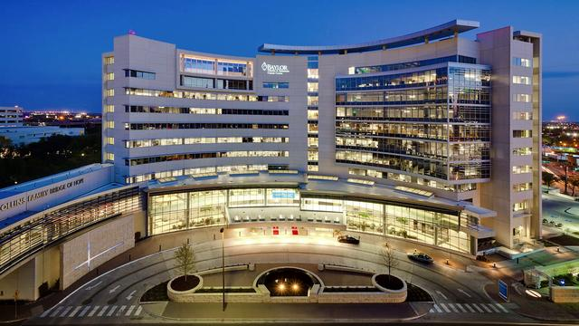 Baylor Cancer Center  Dallas,Texas 24 hour Timelapse