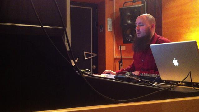 KFW composing @ the GRM.